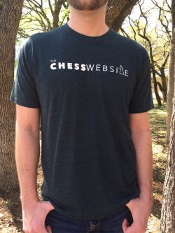 the chess website t-shirt