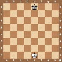 chess king board setup