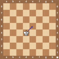 chess king notation on movement